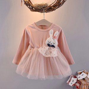 Sukienka królik