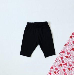 Krótkie spodenki black dla dziewczynki 56-92 cm