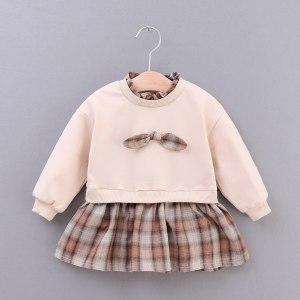 Sukienka crema dla dziewczynki 56-92 cm