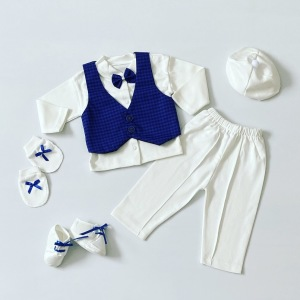 Pierwsza wyprawka niemowlęca dark blue