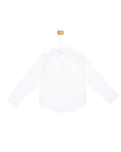 Biała koszula z kotwicą