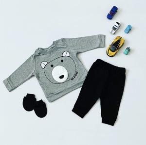 Komplet grey teddy