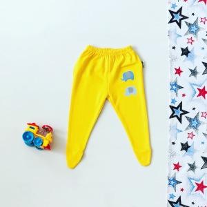Półśpiochy żółte dla chłopczyka 56-92 cm