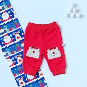 Spodnie renifer dla dziewczynki 56-92 cm