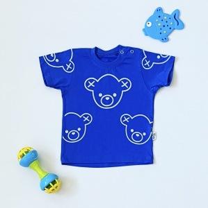 T-shirt blue dla chłopczyka 56-92 cm