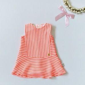 Sukienka neon dla dziewczynki 56-92 cm