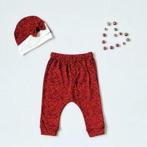Spodnie happy + czapeczka dla dziewczynki 56-92 cm
