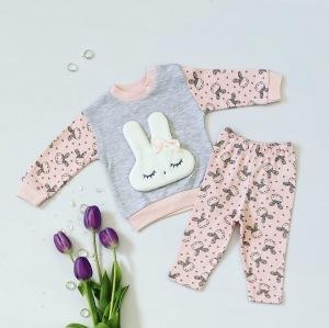 Komplet pink bunny