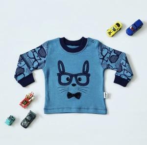 Bluza blue cat