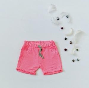 Krótkie spodenki neon dla dziewczynki 56-92 cm