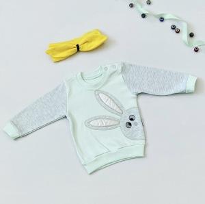 Bluza mięta dla dziewczynki 56-92 cm