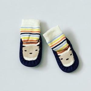Buciki niemowlęce miś dla chłopczyka