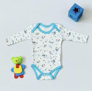 Body baby z długim rękawem dla chłopczyka 56-92 cm