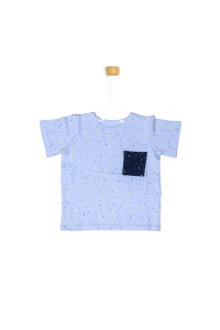 T-shirt w kropeczki
