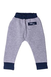 Szare spodnie z kieszonką