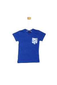 Niebieska koszulka z krótkim rękawem
