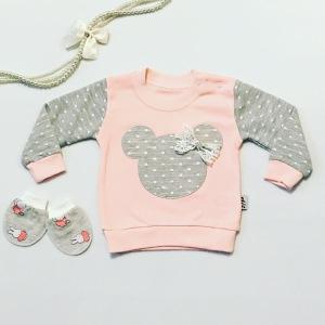 Bluza mini dla dziewczynki 56-92 cm
