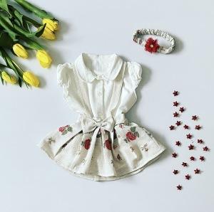 Sukienka rose + opaska dla dziewczynki 56-92 cm