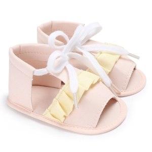 Sandałki falbanka
