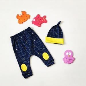 Spodnie krab + czapka