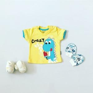 T-shirt crazy dla chłopczyka 56-92 cm