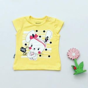 T-shirt little cat dla dziewczynki 56-92 cm