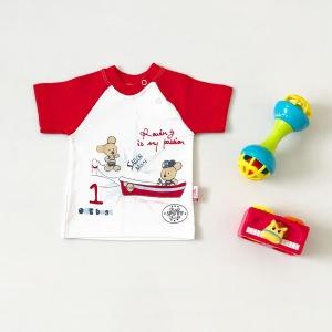 T-shirt one boat dla chłopczyka 56-92 cm