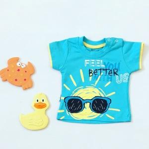 T-shirt sun dla chłopczyka 56-92 cm