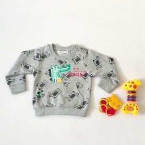 Bluza krokodyl dla chłopczyka 56-92 cm
