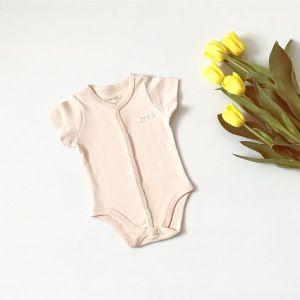 Body organic z krótkim rękawem dla dziewczynki 56-92 cm