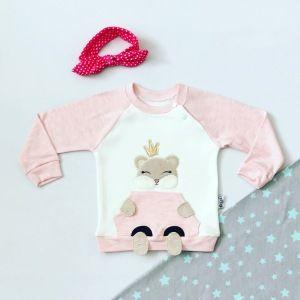 Bluza princes dla dziewczynki 56-92 cm