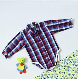Koszula - body w kratkę