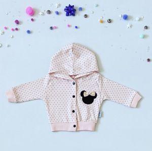 Bluza pink mouse dla dziewczynki 56 - 92 cm