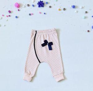 Spodnie pink mouse dla dziewczynki 56-92 cm