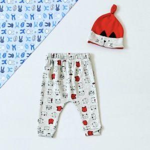 Spodnie red cat + czapka dla chłopczyka 56-92 cm