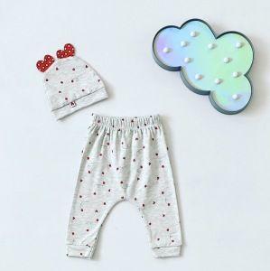 Spodnie biedronka + czapeczka dla dziewczynki 56-92 cm