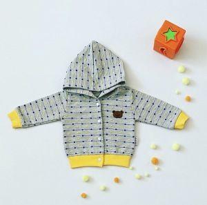 Bluza żółty miś dla chłopczyka 56-92 cm