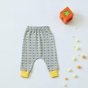 Spodnie żółty miś dla chłopczyka 56-92 cm