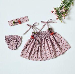 Sukienka cherry dla dziewczynki 56-92 cm