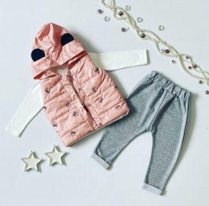 Komplet pink mini dla dziewczynki 56-92 cm