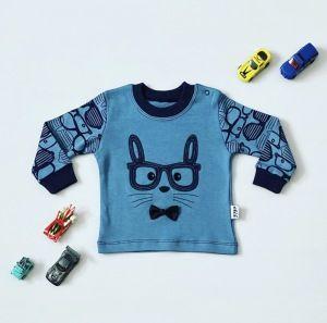 Bluza blue cat dla chłopczyka 56-92 cm