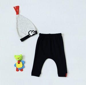 Spodnie kids + czapka dla chłopczyka 56-92 cm