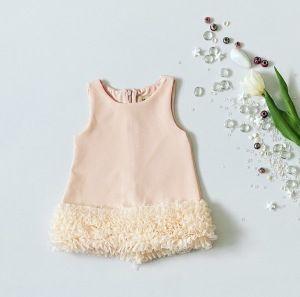 Sukienka falbana dla dziewczynki 56-92 cm