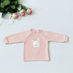 Bluza kropka dla dziewczynki 56-92 cm