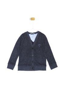 Sweterek grafitowym dla chłopczyka 56-92 cm