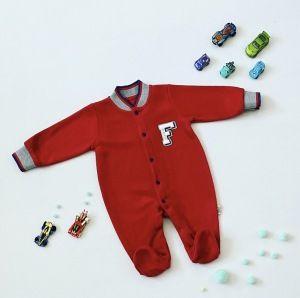 Pajac red F dla chłopczyka 56-92 cm