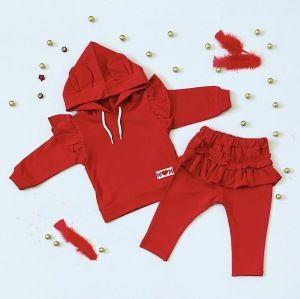 Komplet red dla dziewczynki 56-92 cm