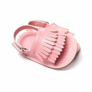Różowe sandałki