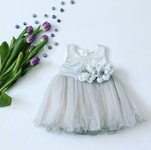 Sukienka silver dla dziewczynki 56-92 cm