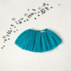Turkusowa spódniczka dla dziewczynki 56-92 cm